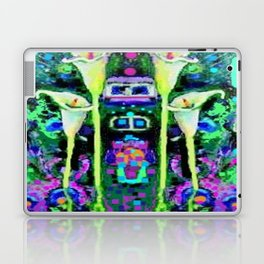 ARTY ART NOUVEAU CALLA LILIES DESIGN Laptop & iPad Skin