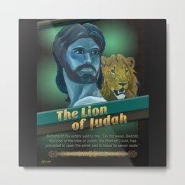 The Lion Of Judah 1 Metal Print