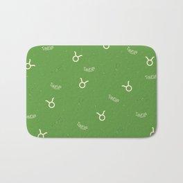 Taurus Pattern - Green Bath Mat