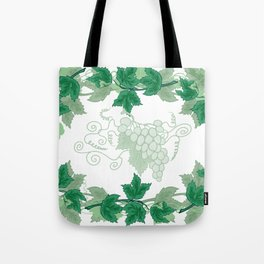 Abstract frame from grapevines Tote Bag
