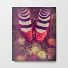 Dorothy Wizard of Oz Metal Print