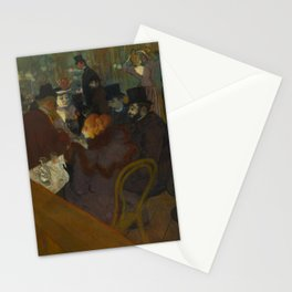 Henri de Toulouse-Lautrec - At the Moullin Rouge Stationery Cards