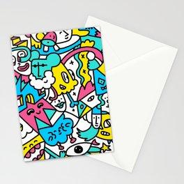 Retro Crew Pattern Stationery Cards
