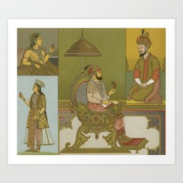 Indian Mughal 2 Art Print