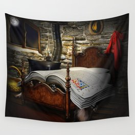 A fairytale before sleep Wall Tapestry