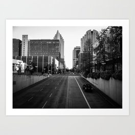 Through City Art Print