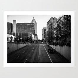 Through City Art Print