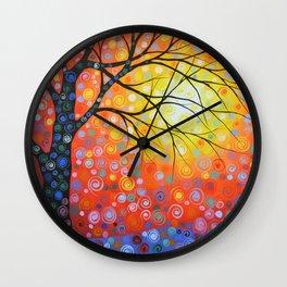 Joyous Sky Wall Clock