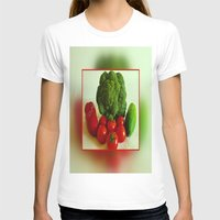 vegetables T-shirts featuring Fresh Vegetables by Art-Motiva