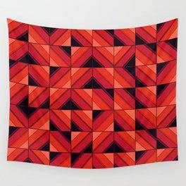 Fake wood pattern Wall Tapestry