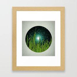 grazie grassa grass Framed Art Print