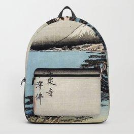 Ukiyo-e, Ando Hiroshige, KAMAKURA DAIBUTSU Backpack