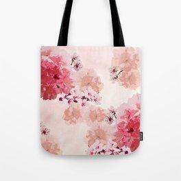 Floral Rage Tote Bag