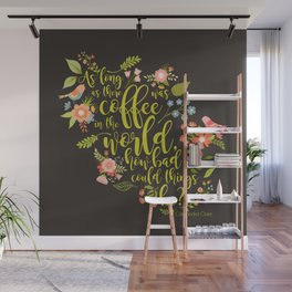 As long as there was coffee...Clary Fray. The Mortal Instruments Wall Mural