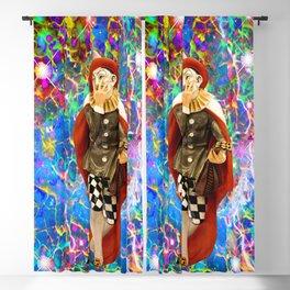 Clown Troubadour Blackout Curtain