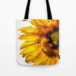 Simply a sunflower Tote Bag