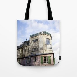 Montmartre Paris Tote Bag