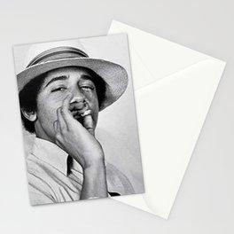 Young Barack Obama Smoking Weed Stationery Cards