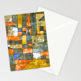 Paul Klee North German City Stationery Cards