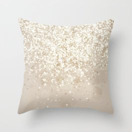 Glitteresques IV:VII Throw Pillow