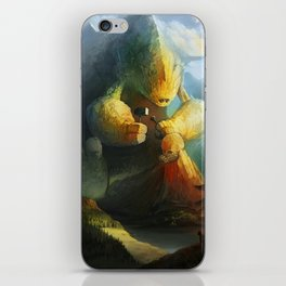 Mountain Birth iPhone Skin