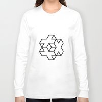 positive Long Sleeve T-shirts featuring Positive by Dizzy Moments