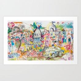 Soul of Havana Art Print
