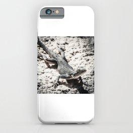 Weird lizard iPhone Case