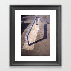 Ground steel Framed Art Print