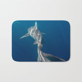 Peaceful Lemon Shark Bath Mat