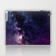 The Milky Way Midnight Blue & Purple Laptop & iPad Skin