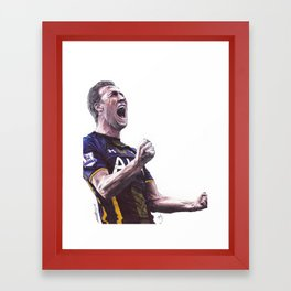 Harry Kane Pen Drawing Framed Art Print