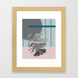 Scotland, the land of the mountains multi-coloured Framed Art Print