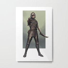 Bait Metal Print