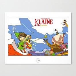 The Legend of Klaine Canvas Print