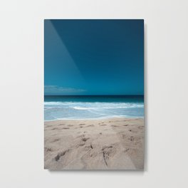 Beach and Chill Metal Print