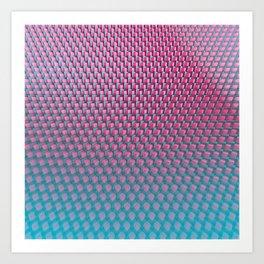 cubes4 Art Print