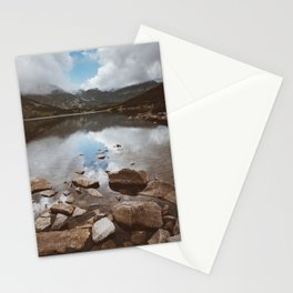 Mountain Lake - Landscape and Nature Photography Stationery Cards