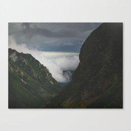 Polish mountains Canvas Print