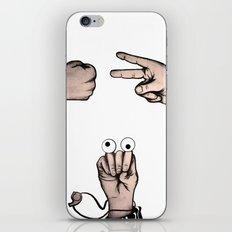 Rock, Scissors, Hanz iPhone & iPod Skin