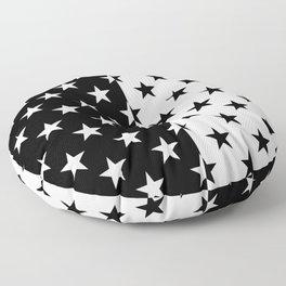 PERSPECTIVES (BLACK-WHITE) Floor Pillow