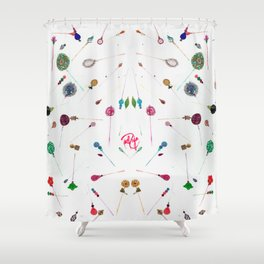 Hijab Pins Shower Curtain