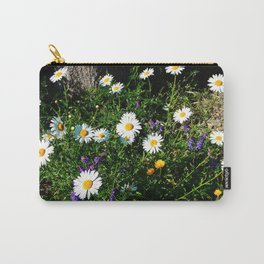 Wildflowers by the River Carry-All Pouch