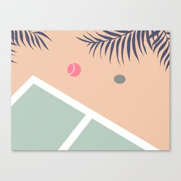 Tennis Court #society6 #decor #buyart Canvas Print