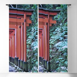 Inari Gates Galore Blackout Curtain