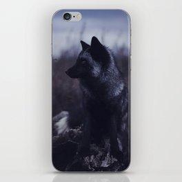 Dark Fox iPhone Skin
