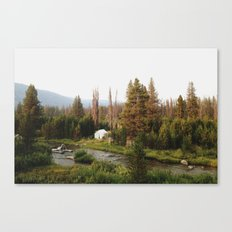 Idaho Camper Canvas Print