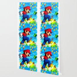 Super Mario Van Gogh style Wallpaper