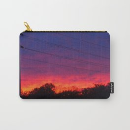 Ombre Sunset Carry-All Pouch