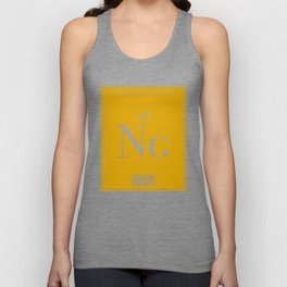 Periodic Table of Nuggets Unisex Tank Top
